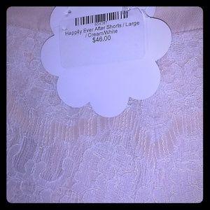Endless Rose Lace Shorts/Large